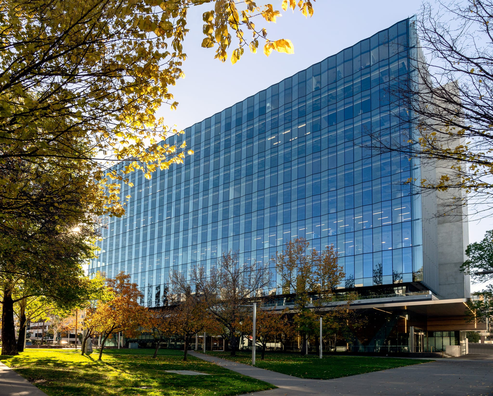 CQ Canberra exterior entrance